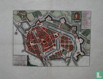 Nieuwe Grondtekening Der Stad Vlissingen