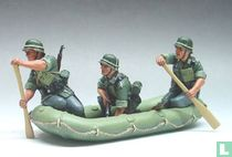 Three Assault Engineers