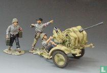 Anti Aircraft Gun and Crew