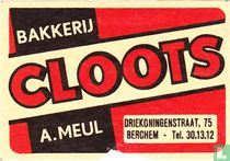 Bakkerij Cloots - A. Meul