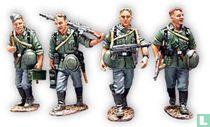 4 Walking Wehrmacht Infantry