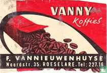 Vanny Koffies - F. Van Nieuwenhuyse