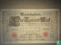 Germany 1000 Mark 1910 (P44a)