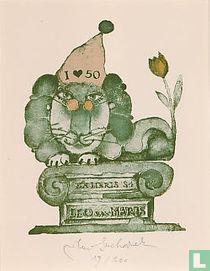 Ex libris Leo van Maris (I love 50)