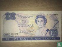 Nieuw-Zeeland 10 Dollars 1989
