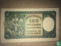 Slowakije 100 Korun 1940