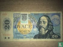 Slowakije 20 Korun 1993