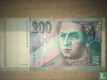 Slowakije 200 Korun 1995