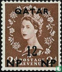 Britse uitgave met opdruk