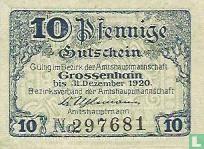 Grossenhain 10 Pfennig