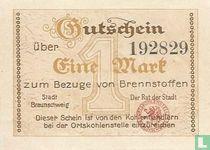 Braunschweig 1 Mark ND (1921)