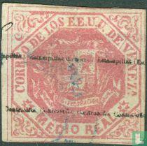 Coat of Arms, overprint