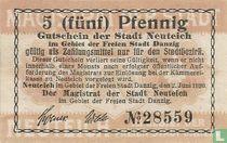 Neuteich 5 Pfennig