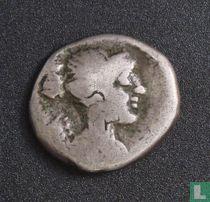 Romeinse Rijk, AR Quinarius, 90 BC, gens Titia, Rome