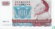 Schweden 100 Kronor 1982