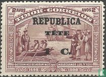 Vasco da Gama reeks met opdruk