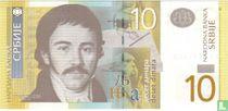 Servië 10 Dinara 2013