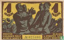 Sachsen 1 Mark 1921