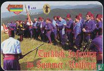 Turkish Infantry in Summer Uniform