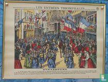 Les entrées triomphales Strasbourg