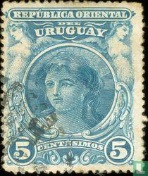 Fille de l'Uruguay