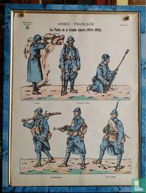 Les Poilus de la grande Guerre (1914 - 1918)