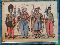 Drapeaux de l'armée française
