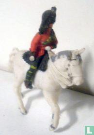 Highlander Officier te paard