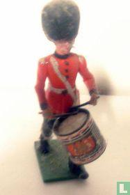 Scots Guard  drummer