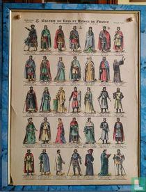 Galerie des Rois et Reines de France (887 à1380)