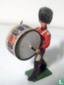 Scots Guard Bass Drum