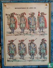 Mousquetaires de Louis XIII