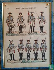 Gardes Françaises de Louis XV