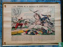 Episode de la bataille de Saint Privat (Près de Metz)