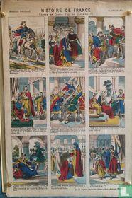 Histoire de France - Clovis II et Clothaire III