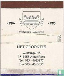 Het Croontje -1990-1995 - Restaurant Brasserie
