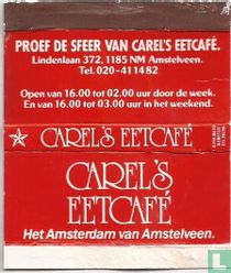 Proef de sfeer van Carel's Eetcafé