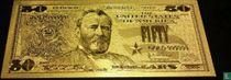 Verenigde Staten 50 dollar 1934 (Gold-Layered)