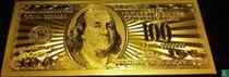 Verenigde Staten 100 dollar 1934 (Gold-Layered)