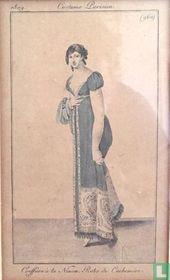 Coeffure à la Ninon. Robe de Cachemire (960)