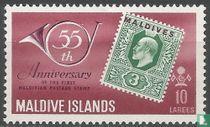 55 jaar postzegels