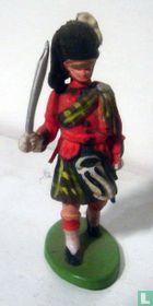 Scots Highlanders officier