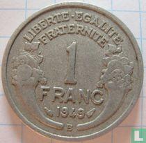 Frankrijk 1 franc 1949 (B)