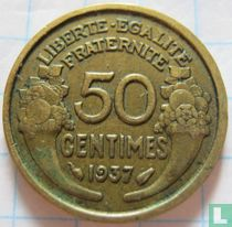 Frankrijk 50 centimes 1937