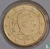 Belgium 50 cent 2015