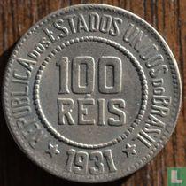 Brasilien 100 Réis 1931