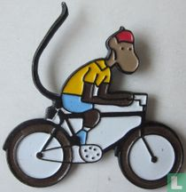 aap op fiets