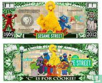 SESAME street - Sesam straat biljet