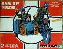 B.M.W. R75 sidecar