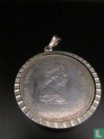 Zilveren Hanger, Met Beeltenis Elizabeth 2
